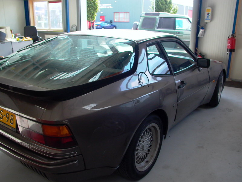 Porsche 944 automaat for Porsche 944 interieur
